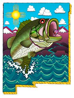Archive news santa fe artist wins bass fishing license for Mexico fishing license