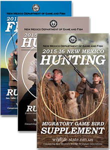 New Mexico Game and Fish Hunting & Fishing Publications 2015-2016