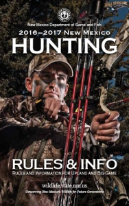 Hunting-Rule-Information-Book-2016_2017-New-Mexico-Department-Game-Fish-300x480
