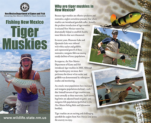 Tiger Muskies Brochure 2014 - New Mexico Game and Fish