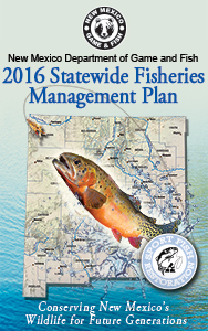 2016 Statewide Fisheries Management Plan - New Mexico Department of Game and Fish