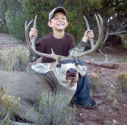 Mentored youth hunting program new mexico department of for Mexico fishing license