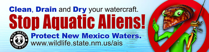 Clean, Drain & Dry your Boat - Stop Aquatic Aliens - Protect New Mexico Waters