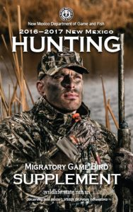 Hunting-Migratory-Game-Bird-Rules-Info-Book-2016-2017-New-Mexico-Department-Game-Fish-Cover