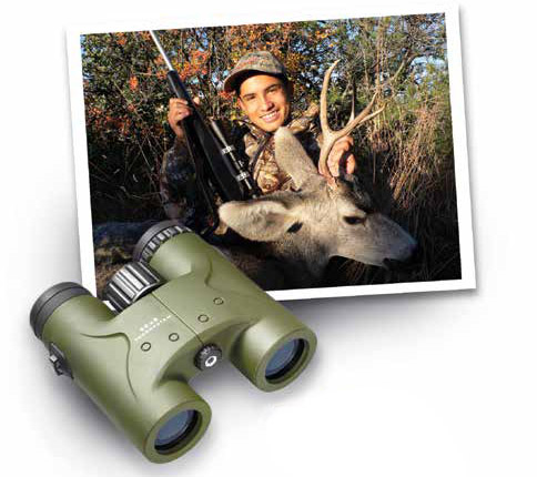 Big game species in New Mexico - photo of deer hunter.