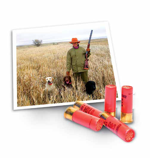 New mexico upland game hunting photo of female hunter for Nm game and fish license