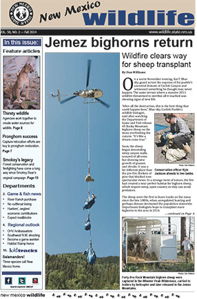 New Mexico Wildlife - Fall 2014 - News Magazine from NMDGF Game and Fish