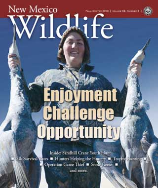 New Mexico Wildlife - Fall/Winter 2016 - News Magazine from NMDGF Game and Fish