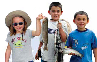 Take your children fishing - Family Fishing Information from New Mexico Game & Fish