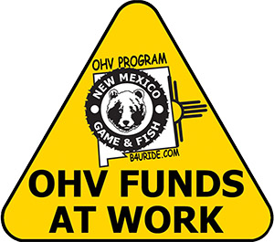 OHV Off-Highway Vehicle Funds at Work - Grant Information - New Mexico Game & Fish