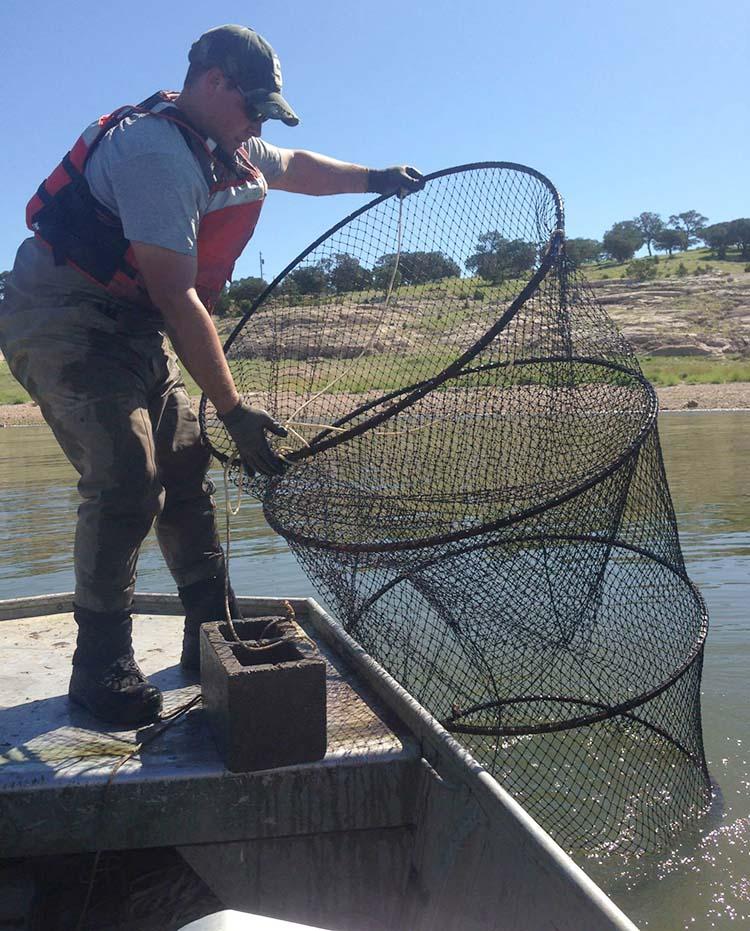 Teen jb boot young for Hoop net fishing