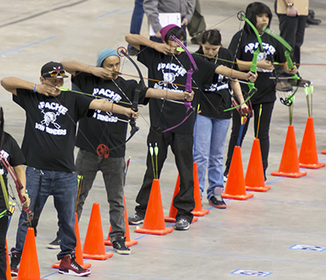 Mescalero Apache School takes top honors at State Archery in the Schools Tournament