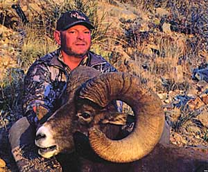 New Mexico record desert bighorn sheep. Taken in Socorro County by Jim Hens in 2013.