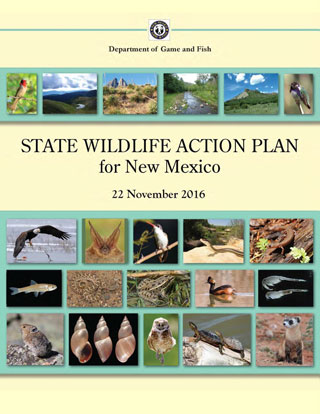 State Wildlife Action Plan for New Mexico, November 2016