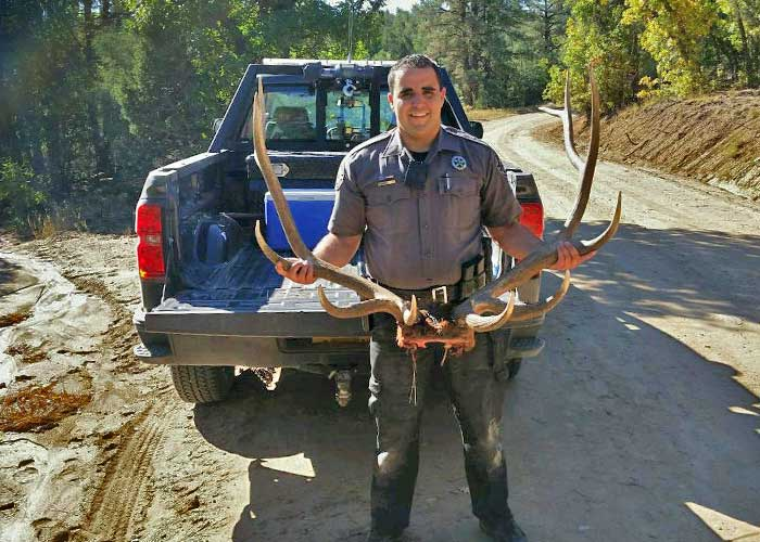 NMDGF Conservation Officer of the Month Dominic McCarthy, March 2016