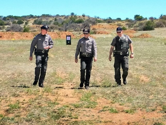 April officer of the month new mexico department of game for Nm game and fish license