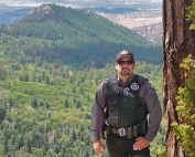NMDGF Conservation Officer of the Month Shawn Carrell, May 2016