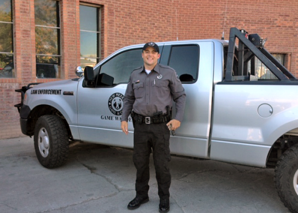 NMDGF Conservation Officer of the Month Matthew Lackey, September 2016