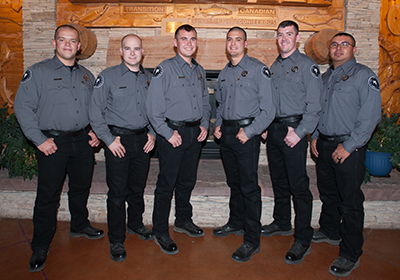 Six new game wardens graduate from law enforcement academy, NDMGF news 11-21-2016