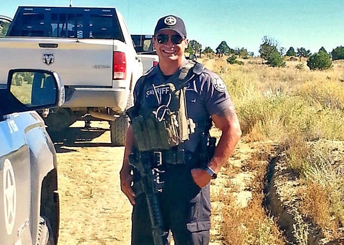 NMDGF Conservation Officer of the Month Clovis Rivera, December 2016