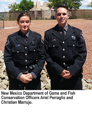 New game wardens graduate from law enforcement academy for New mexico department of game and fish
