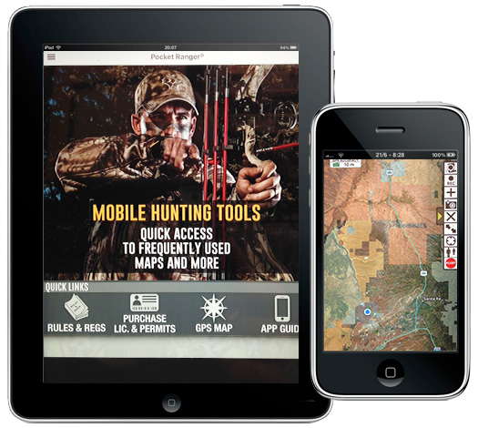 Mobile app new mexico department of game fish for Nm game and fish license