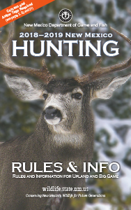 Hunting new mexico department of game fish for Nm game and fish license