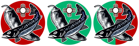 Red, Green or Xmas: New Special Trout Waters, New Mexico Department of Game and Fish