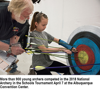 National Archery in the Schools tournament draws more than 900 competitors, New Mexico Department of Game and Fish, news 4-16-2018