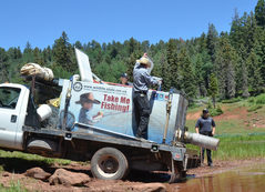 Game and Fish reopens properties and begins stocking fish again in the Santa Fe National Forest, NMDGF News Release 7-9-2018