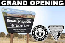 Brown Springs OHV Recreation Area Grand Opening, New Mexico Department of Game and Fish