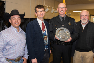 Gallup conservation officer named Officer of the Year by Shikar-Safari Club, New Mexico Department of Game and Fish news March. 5, 2019: