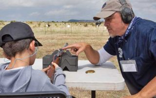 Learning to shoot Muzzleloaders can be a bit challenging, but Department staff and volunteers, can help break it down so it's easier to understand.