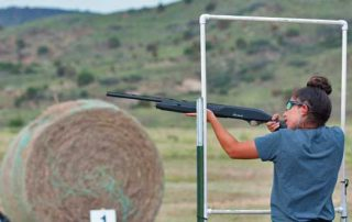 Shooting a shotgun at a moving target can be a lot of fun, we will help you learn the proper stance and form for shotgun shooting.