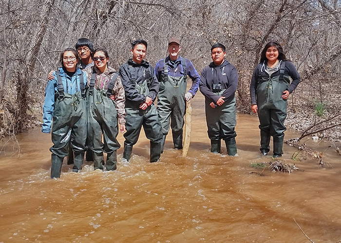 Engaging Students in Studying Wildlife Along New Mexico Rivers- Project Highlight- Share with Wildlife, New Mexico Department of Game and Fish
