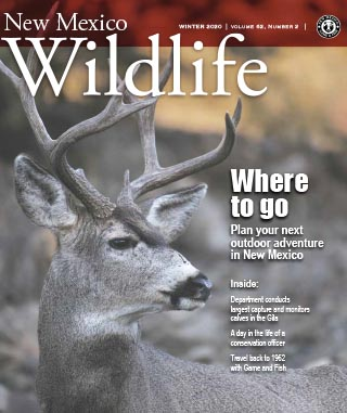 New Mexico Wildlife - Winter 2020 - News Magazine from NMDGF Game and Fish