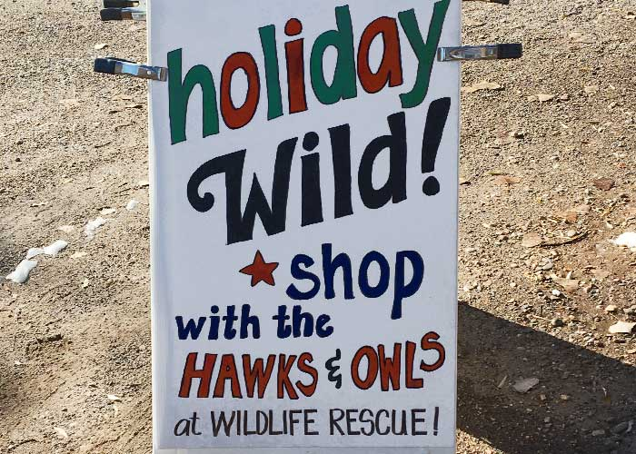 New Mexico Wildlife Rescue Inc.'s Holiday Wild Event - Share with Wildlife, New Mexico Department of Game and Fish