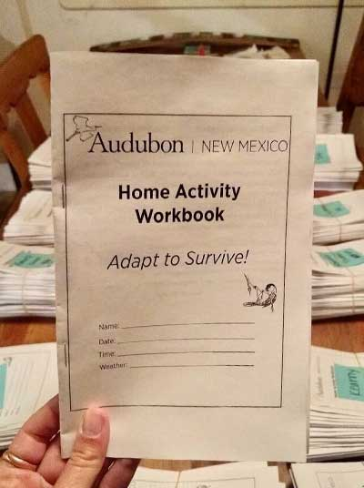Modifying Wildlife Activities for Learning from Home, New Mexico Department of Game and Fish